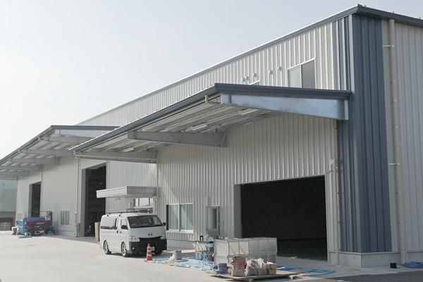 2019年2月に完成した新工場