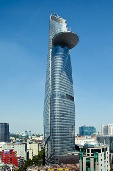 ベトナム現地法人が入居するBitexco Financial Towerの外観