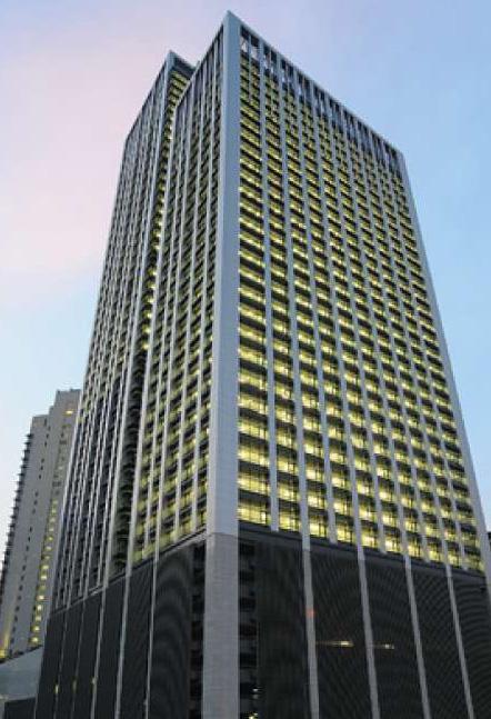 マレーシア駐在員事務所が入居するMenara Allianz Sentralの外観